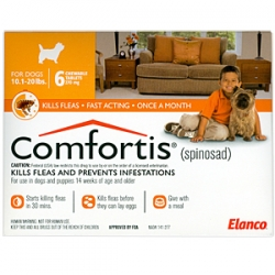 Comfortis -  Dogs 10.1-20lbs & Cats 6.1-12lbs