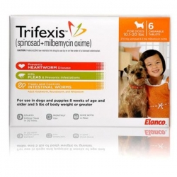 Trifexis Chewables for Dogs 10-20 Lbs