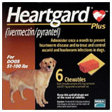 Heartgard Plus Chewables for Dogs 51-100 Lbs