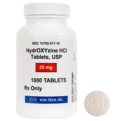 Atarax (Hydroxyzine Hydrochloride) Drug Information: Description